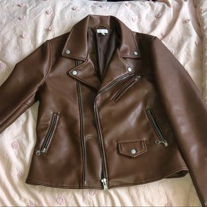 NWOT Genuine Leather Jacket Size M